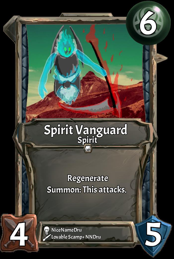 Card] Spirit Vanguard : collectivecg